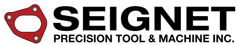 SEIGNET PRECISION TOOL & MACHINE INC. Retina Logo