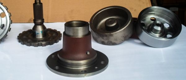 seignet automotive part castings before and after milling