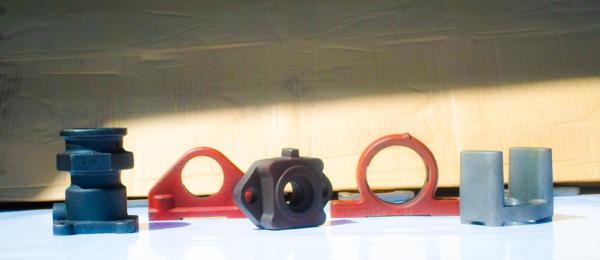 seignet farm equipment parts casting before milling